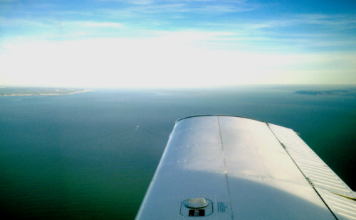 Over the Britstol Channel