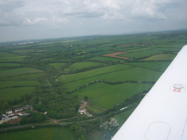 Pembrokeshire flying