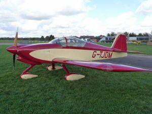 Lovely aeroplane! (Photo from RVUK)